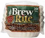 brew rite 8-12 cup coffee filters