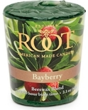 root candle votive bayberry