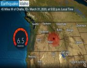 Large Earthquake Strikes Idaho; No Major Damage Reported