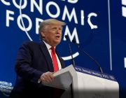 Trump addresses World Economic Forum in Davos, touts trade deals, US economy