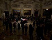 Ceremonies for Bush draw together presidents, world envoys