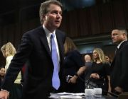 Kavanaugh confirmation in jeopardy as sex assault accuser steps out of shadows