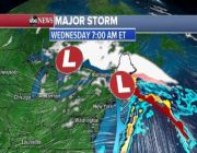 West bracing for more bad weather as East Coast storm moves along