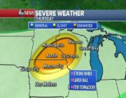 Flooding, severe weather expected for the Midwest and Northeast