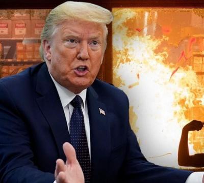 Trump blasts Minneapolis 'thugs,' warns mayor US 'will assume control,' shoot looters if needed