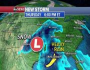 Severe storms to move east with flooding possible in Southeast