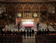 Bush, president and patriarch, is home for Texas burial