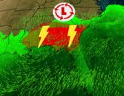 Severe Thunderstorms Could Threaten Parts of the Southeast on Tuesday