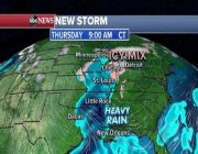 New storm moves into West Coast this morning