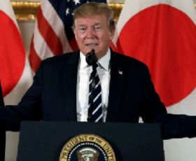 Trump urges greater Japanese investment in U.S., criticizes trade advantage