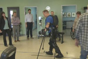 Robotic exoskeletons: Helping paraplegics walk again