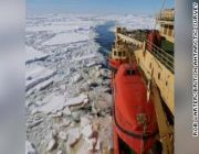 Ice shelves propping up two major Antarctic glaciers are breaking up