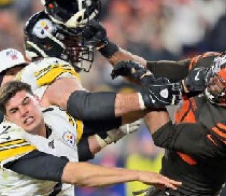 NFL suspends Myles Garrett indefinitely for swinging helmet at quarterback's head