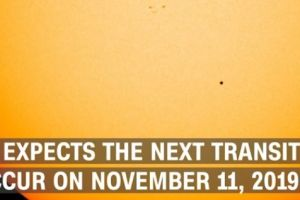 Mercury makes rare pass in front of the sun