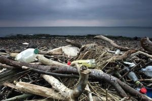 How much plastic enters the ocean every year?