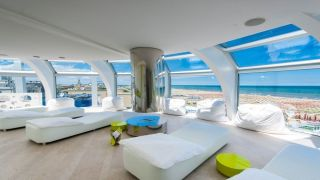 Modern hotels with funky furniture